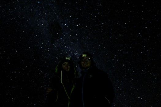 Star gazing with Gastro San Pedro