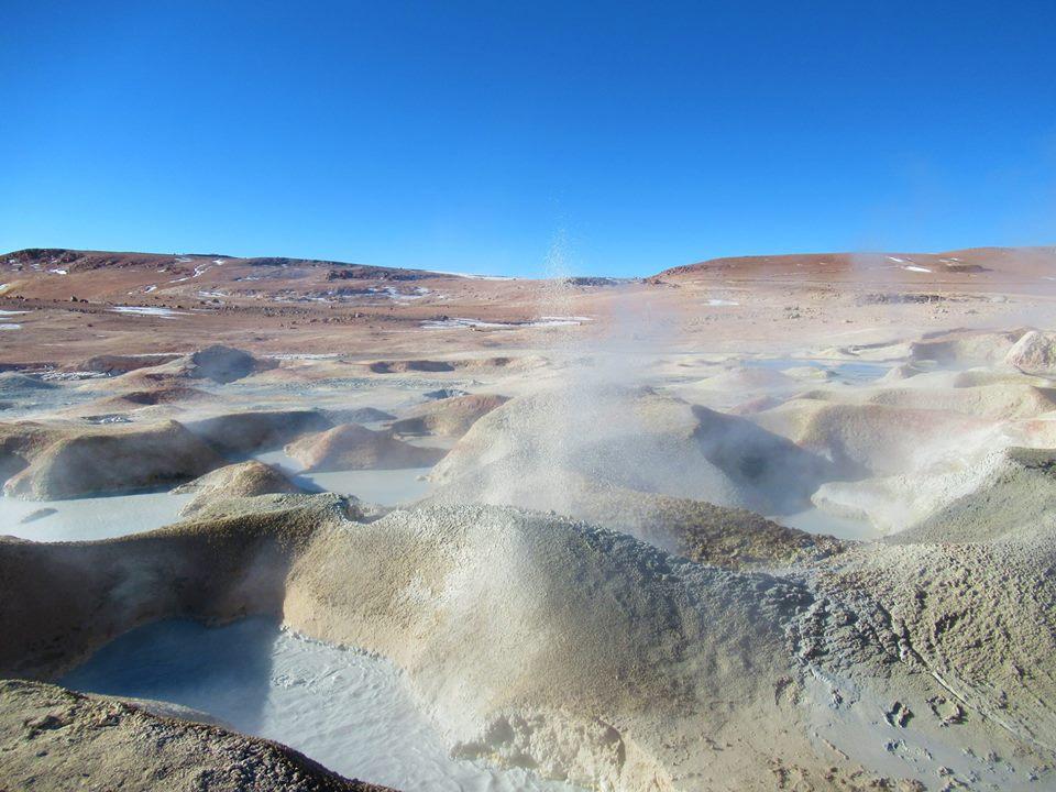 Uyuni Salt Flats Geysers