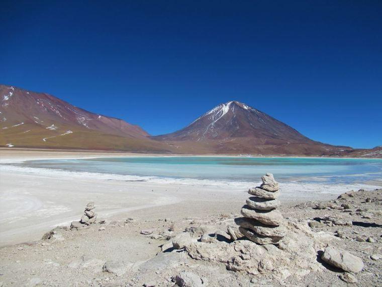 Uyuni Salt Flats Laguna Verde